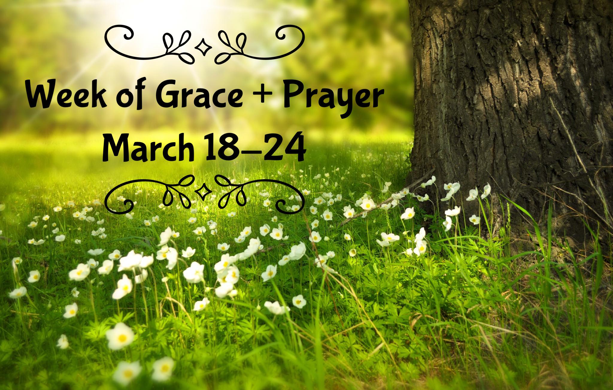 A Week of Grace + Prayer