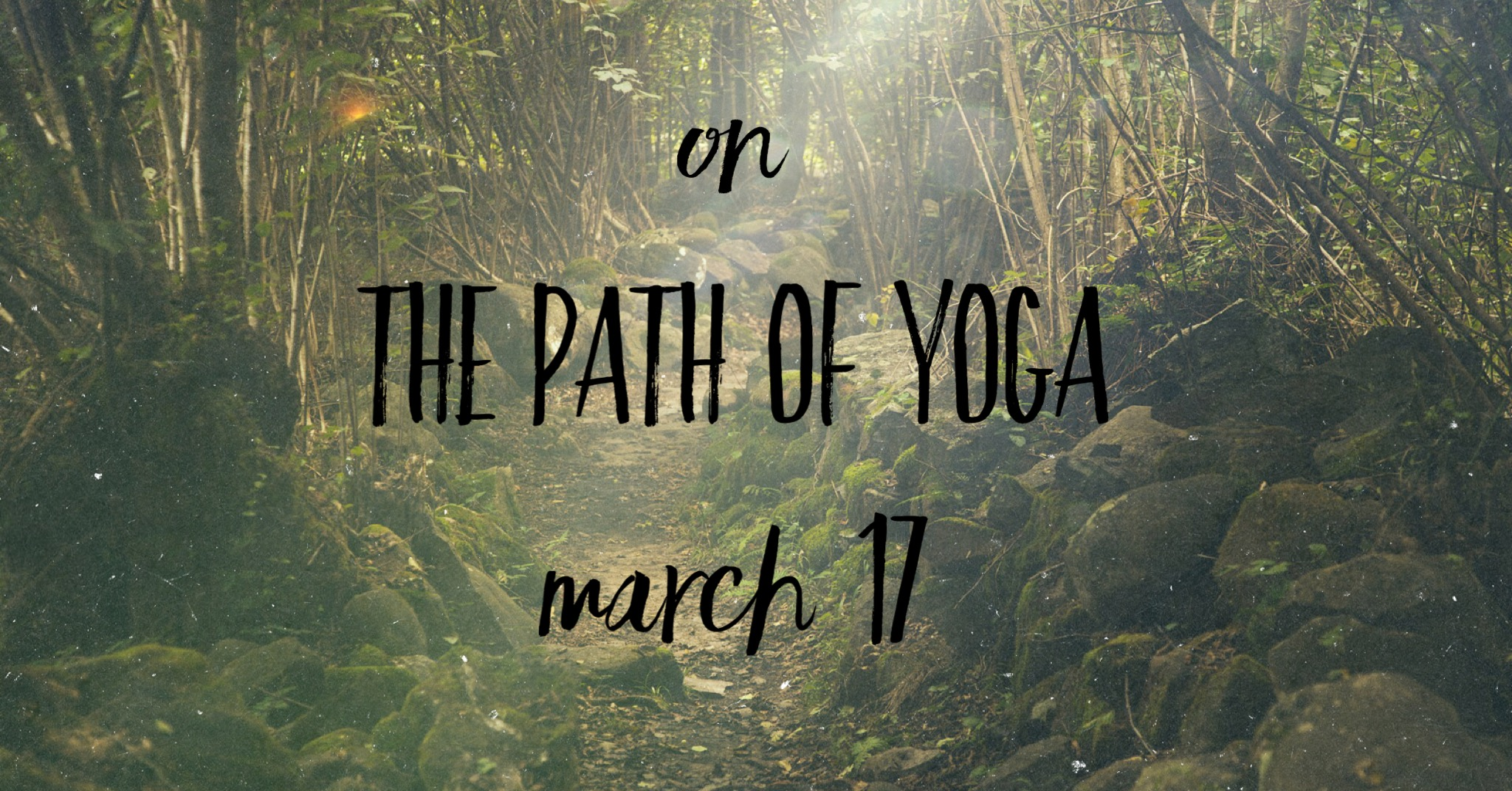 On the Path of Yoga